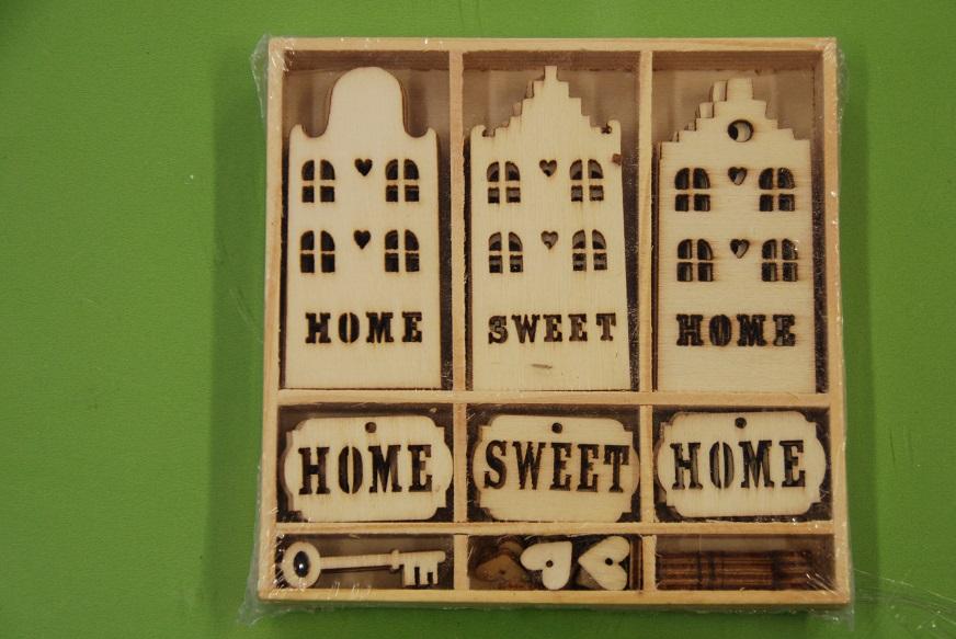 811500 0215-ΞΥΛΙΝΑ ΔΙΑΚΟΣΜΗΤΙΚΑ (55ΤΜΧ)-HOME SWEET HOME e92bfef1f3b